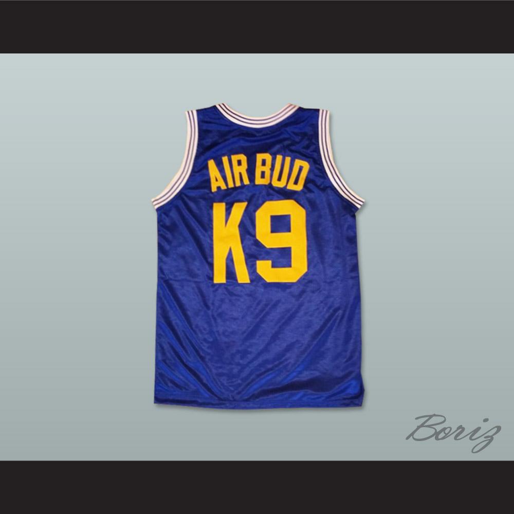 Air Bud K9 Timberwolves Blue Basketball Jersey