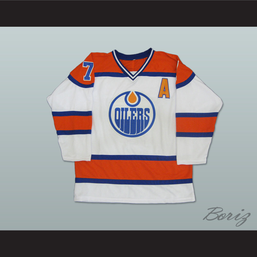 oilers hockey jersey
