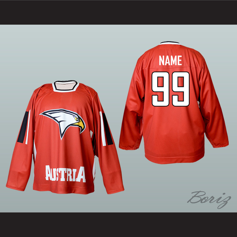 promo code f16cb 00265 Austria National Team Hockey Jersey Red