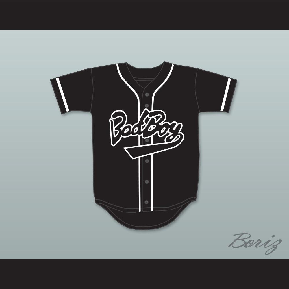 Rainbow Hawk Mens Bad Boy 10 Biggie Smalls Jersey The Notorious Movie Baseball Jerseys