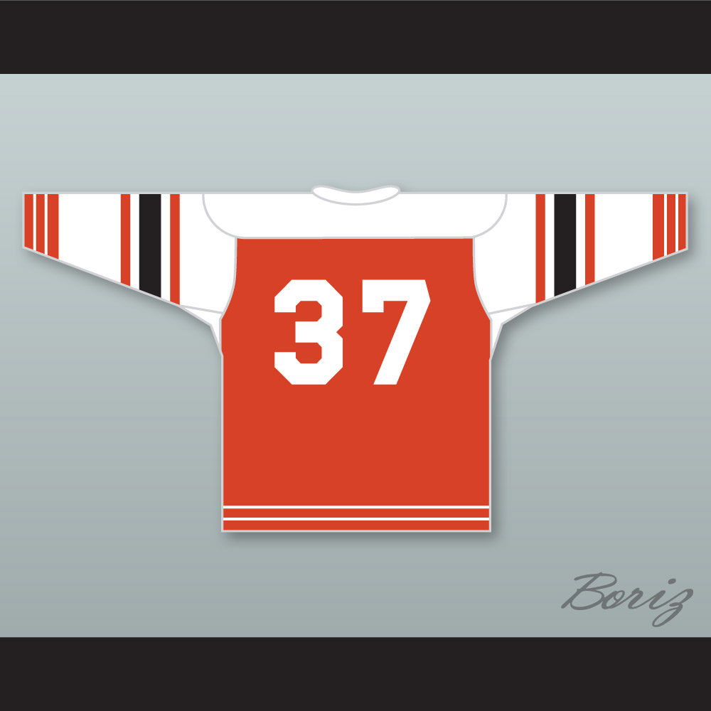 46b3198ba04 Buffalo Bisons Old School Hockey Jersey Orange