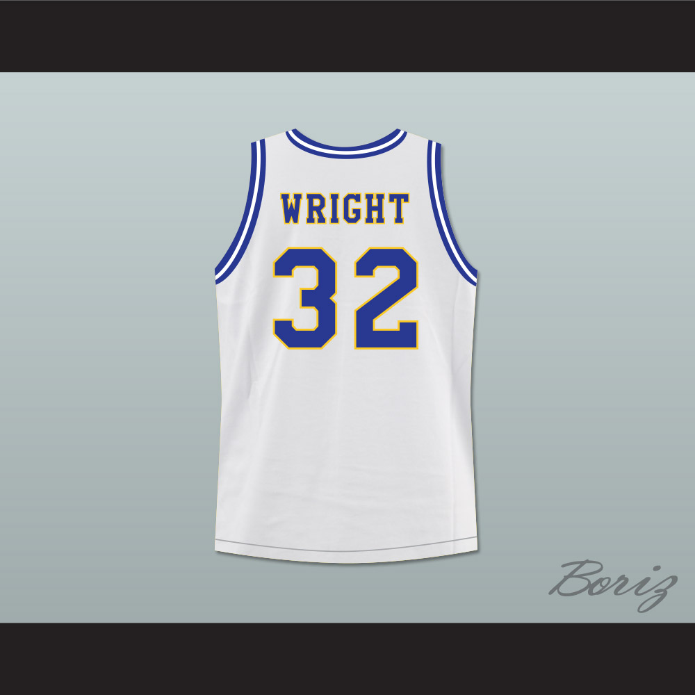 Monica Wright 32 Crenshaw High School Basketball Jersey with Love and  Basketball Patch aaf716b55