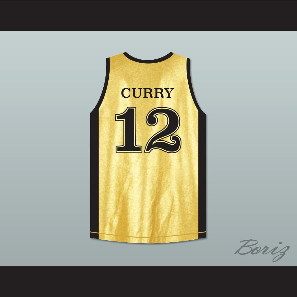 size 40 76b96 ef712 Stephen Curry 12 Queensway Christian College Saints Basketball Jersey