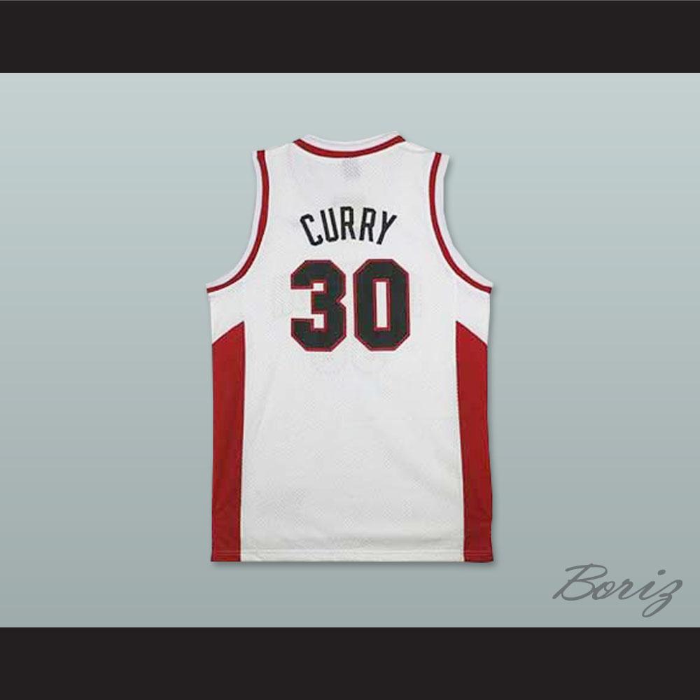 2d89c21b9d8 Home   SPORTS JERSEYS   Stephen Curry 30 Davidson College Wildcats White Basketball  Jersey