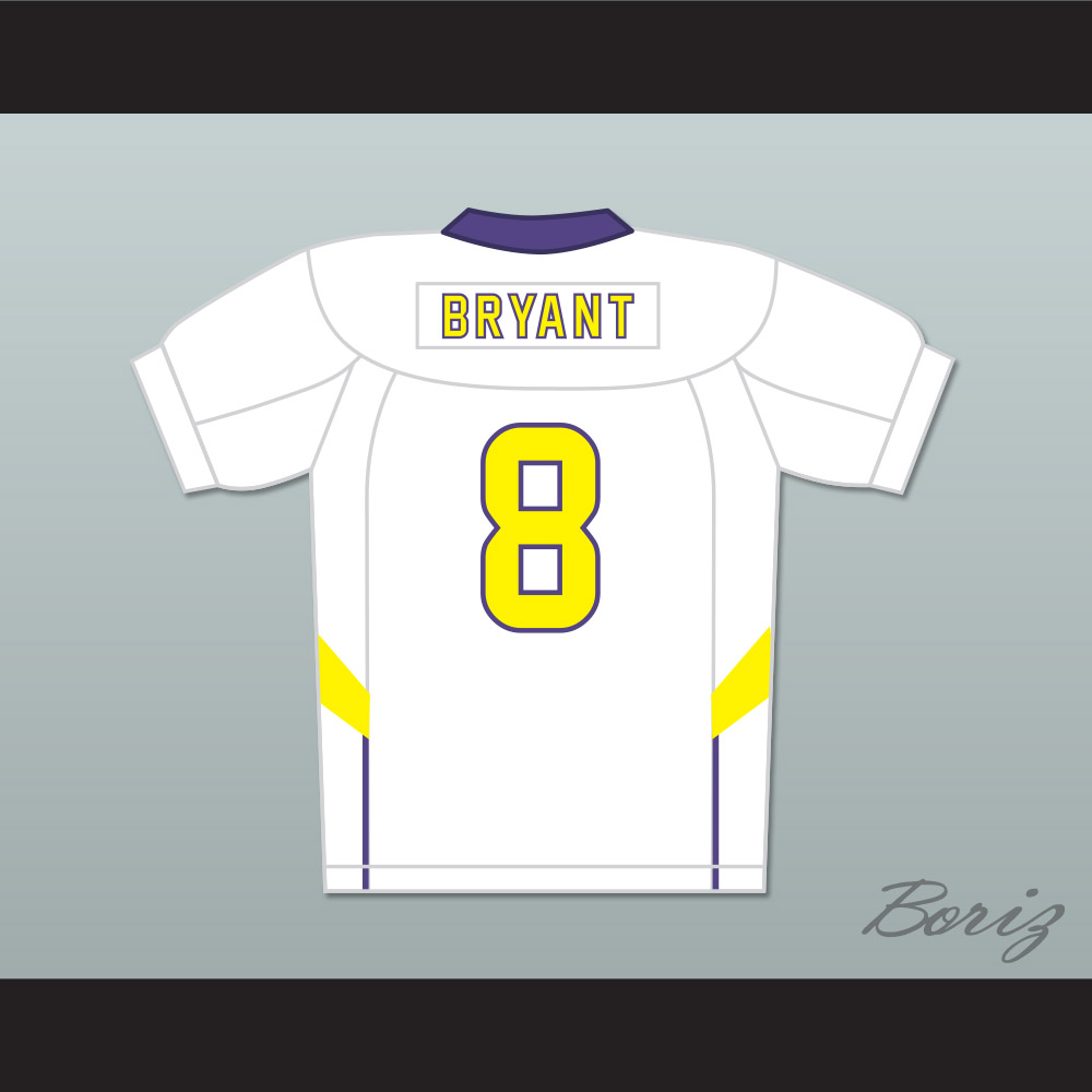 Dez Bryant 8 Lufkin High School Panthers Away Football Jersey