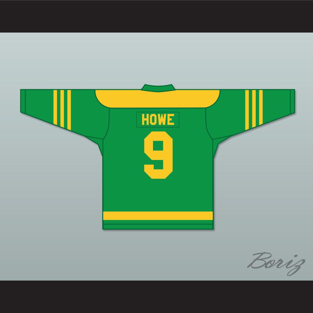 release date: 99186 8f20b 1945-46 Gordie Howe 9 Omaha Ak-Sar-Ben Knights USHL Home Hockey Jersey