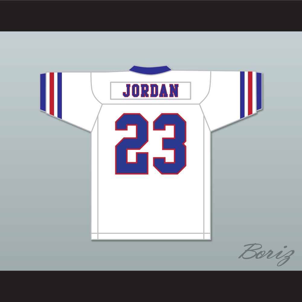 62cc505c707 Michael Jordan 23 Tune Squad Football Jersey with Space Jam Patch