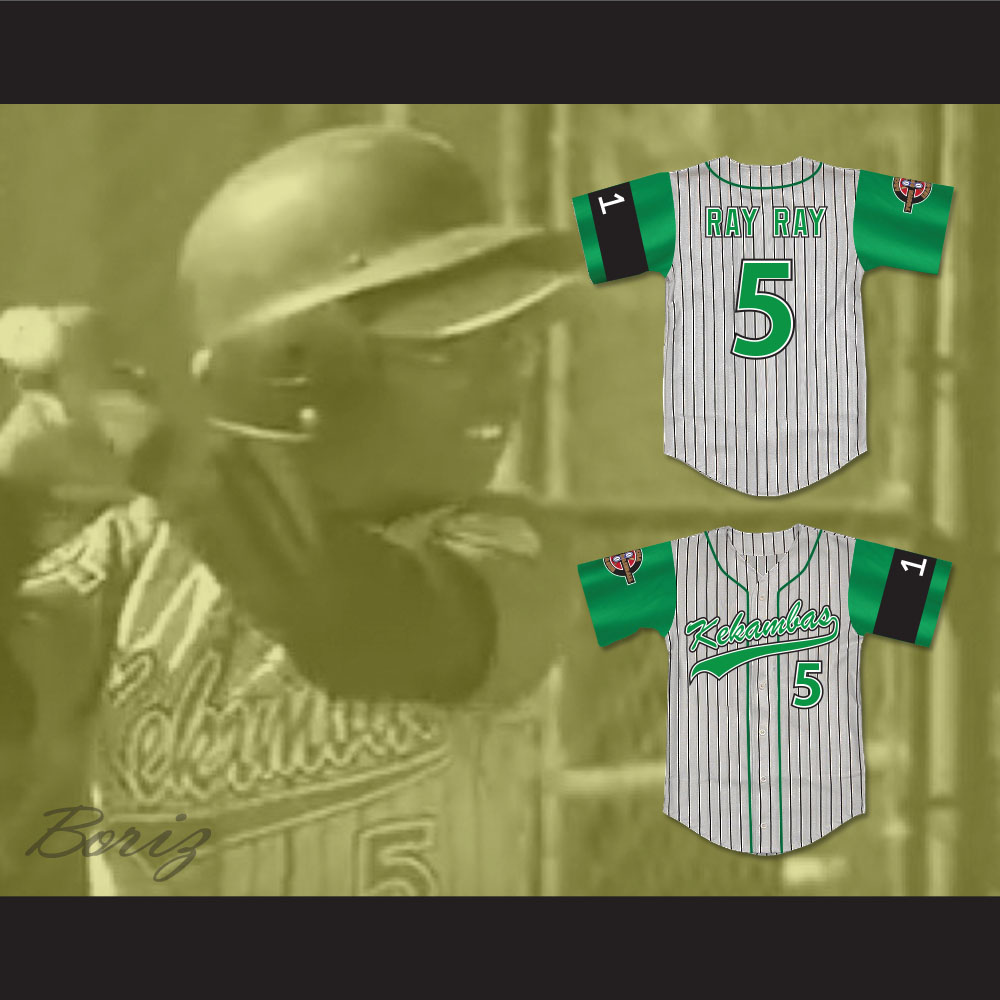 ... Raymond Ray Ray Bennet 5 Kekambas Baseball Jersey Includes ARCHA Patch  and G-Baby Memorial ... cb8f78d78