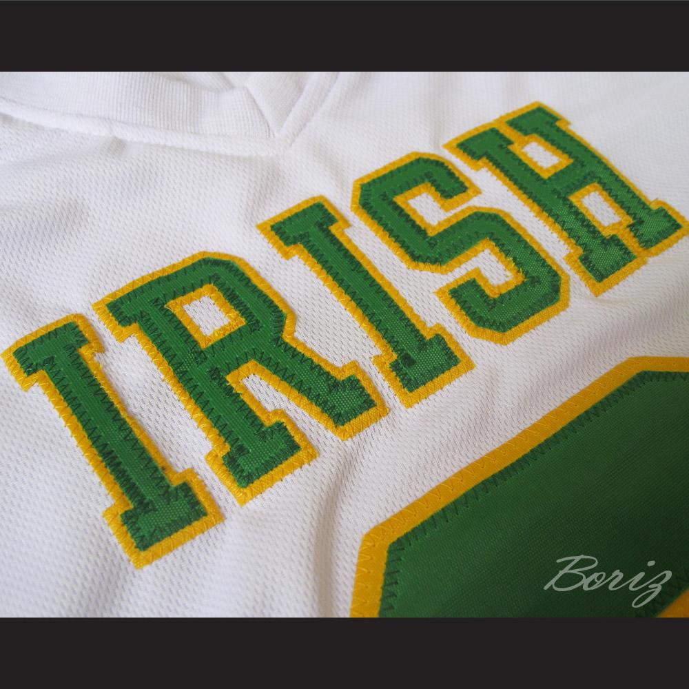 5fc030b98 Lebron James 9 Fighting Irish High School Football Jersey White
