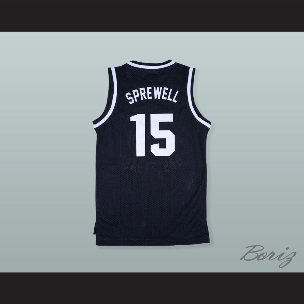 48c76ebe400 ... low price latrell sprewell 15 washington high school purgolders  basketball jersey 97fee bf1a2