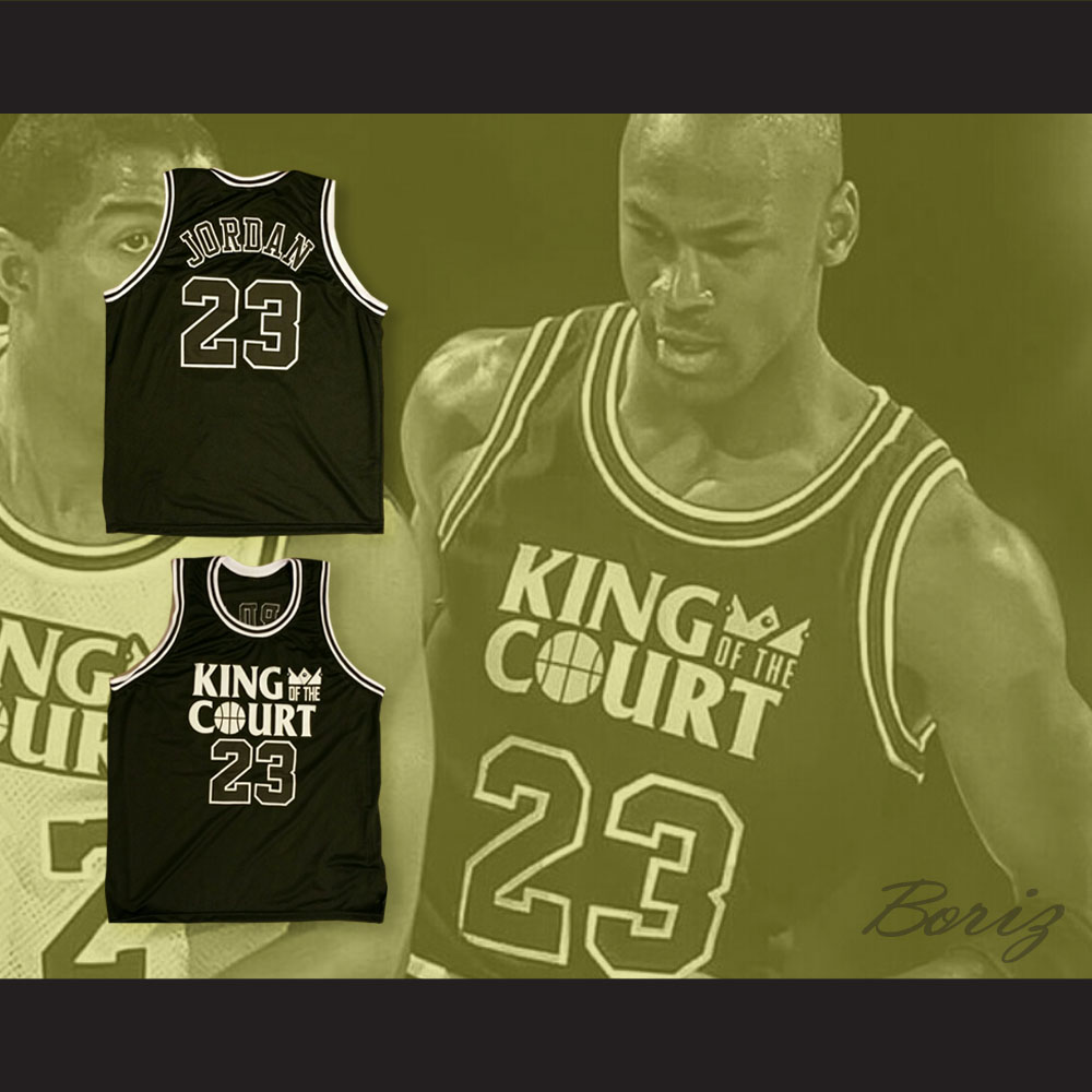 promo code 8a2b6 a22b5 Michael Jordan 23 King of the Court Ceasar's Palace 1-On-1 Basketball Jersey