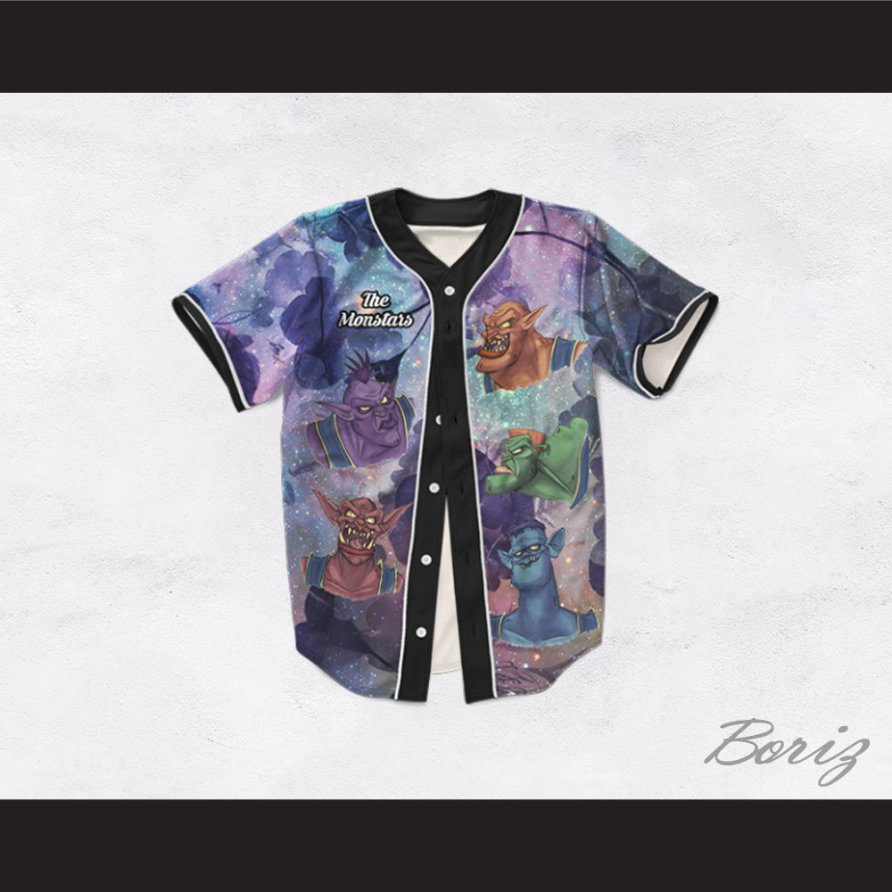 The Monstars 11 Dye Sublimation Graphics Baseball Jersey