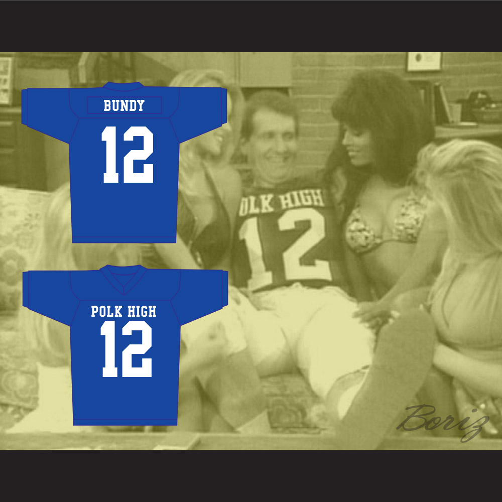 Al Bundy 12 Polk High Football Jersey Married With Children Ed O  Neill ac7379b16