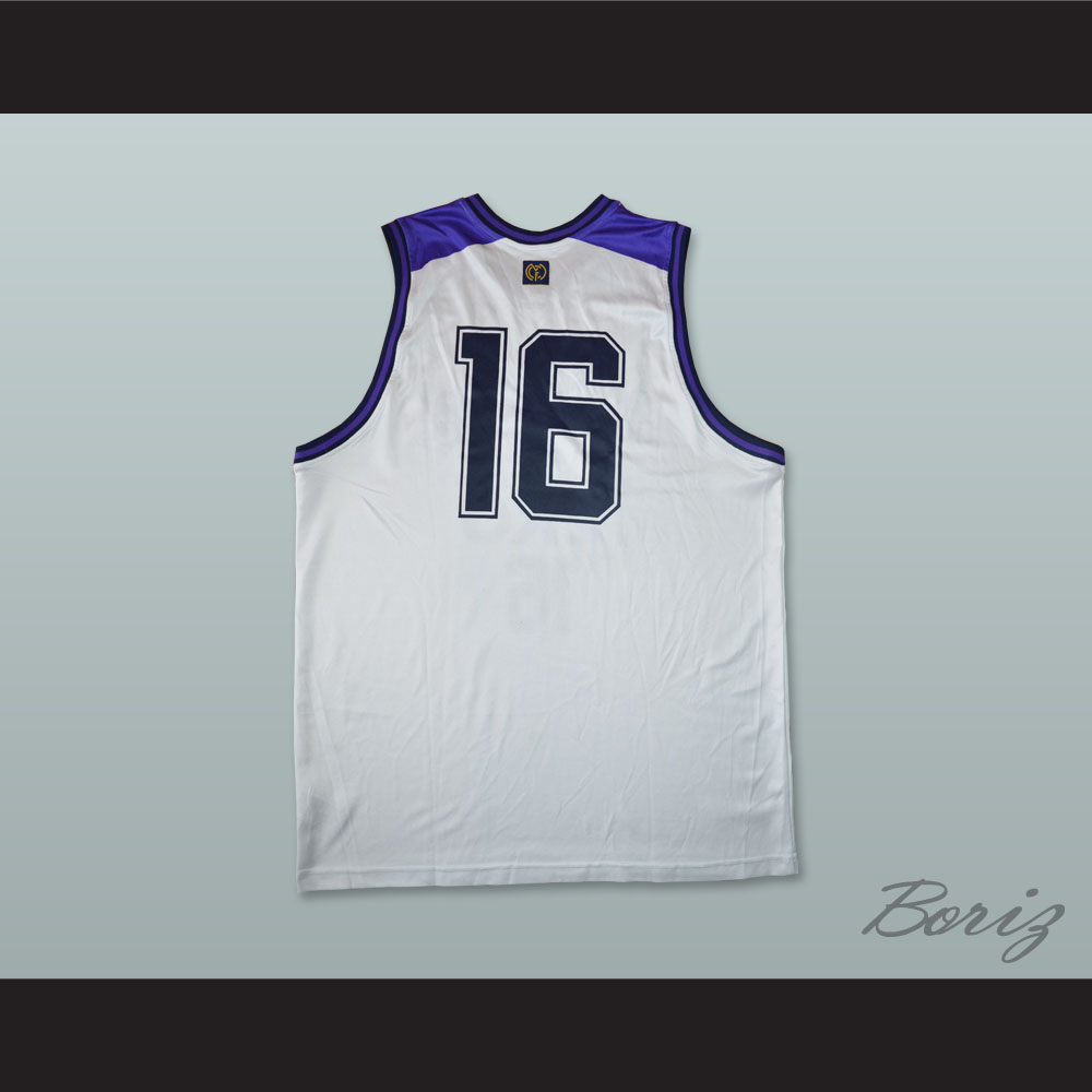 buy popular cadf0 8d3e1 Hector Garcia 16 Real Madrid Basketball Jersey