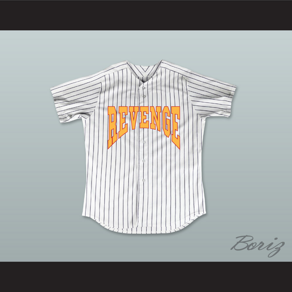 c9f29368226 Drake Summer Sixteen Revenge Pinstriped Baseball Jersey
