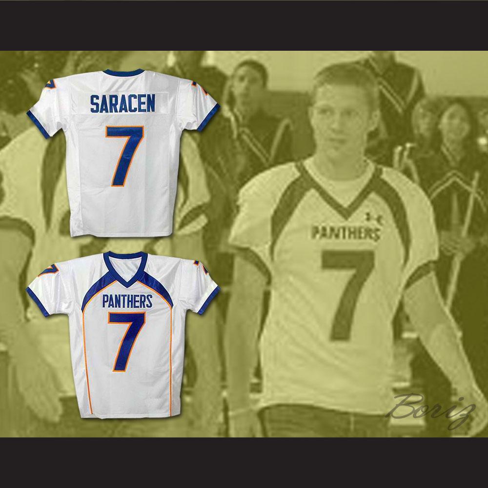 Friday Night Lights Matt Saracen 7 Dillon Panthers Football Jersey White ff96b6a21