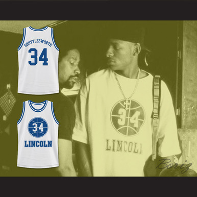 b21e61ca6 JESUS SHUTTLESWORTH 34 LINCOLN HIGH SCHOOL BASKETBALL JERSEY HE GOT GAME