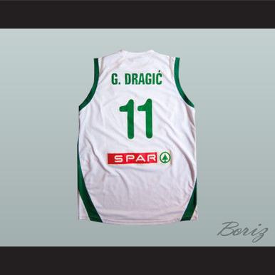 SLOVENIJA GORAN DRAGIC 11 BASKETBALL JERSEY ANY PLAYER OR NUMBER ... 8c0d41f97