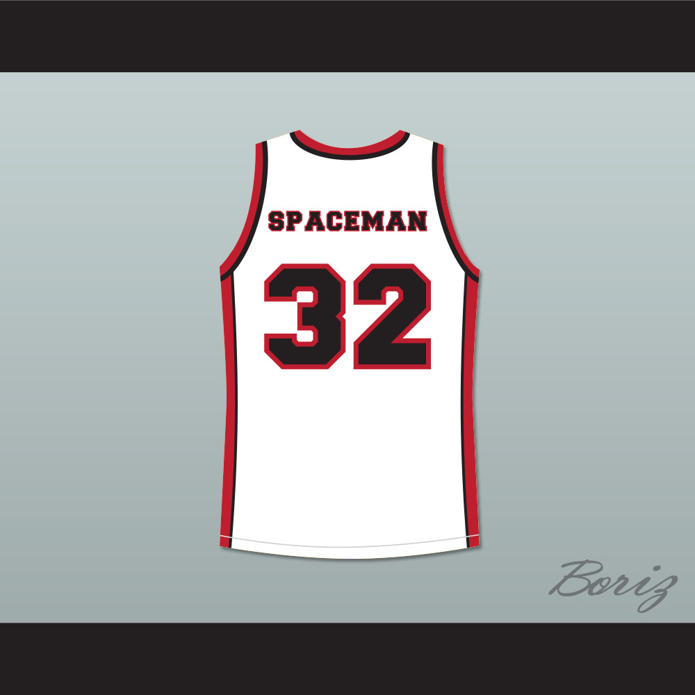 b0fbee036322 Terrence Howard Spaceman 32 Sunset Park White Basketball Jersey