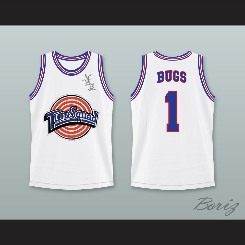 2a329355e0e Space Jam Bugs Bunny 1 Tune Squad Basketball Jersey with Bugs ...