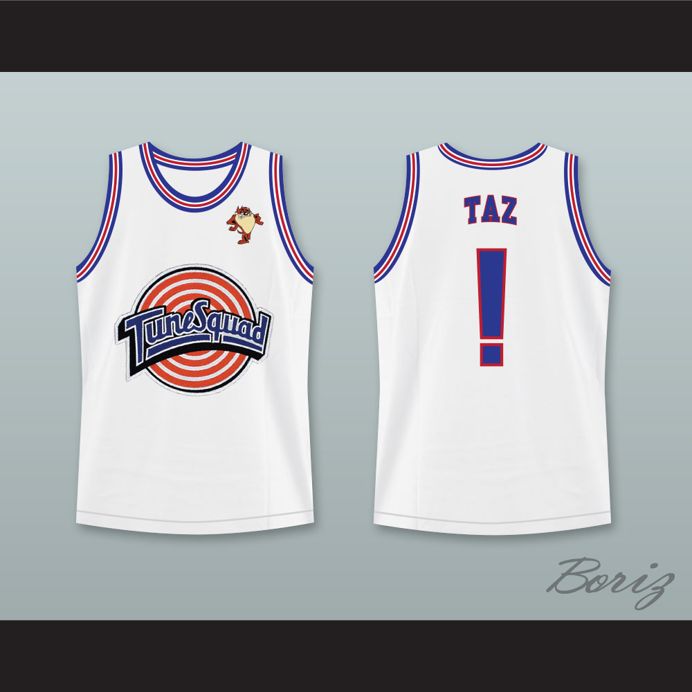 4b740150289 Space Jam Tune Squad Taz! Basketball Jersey with Taz Patch