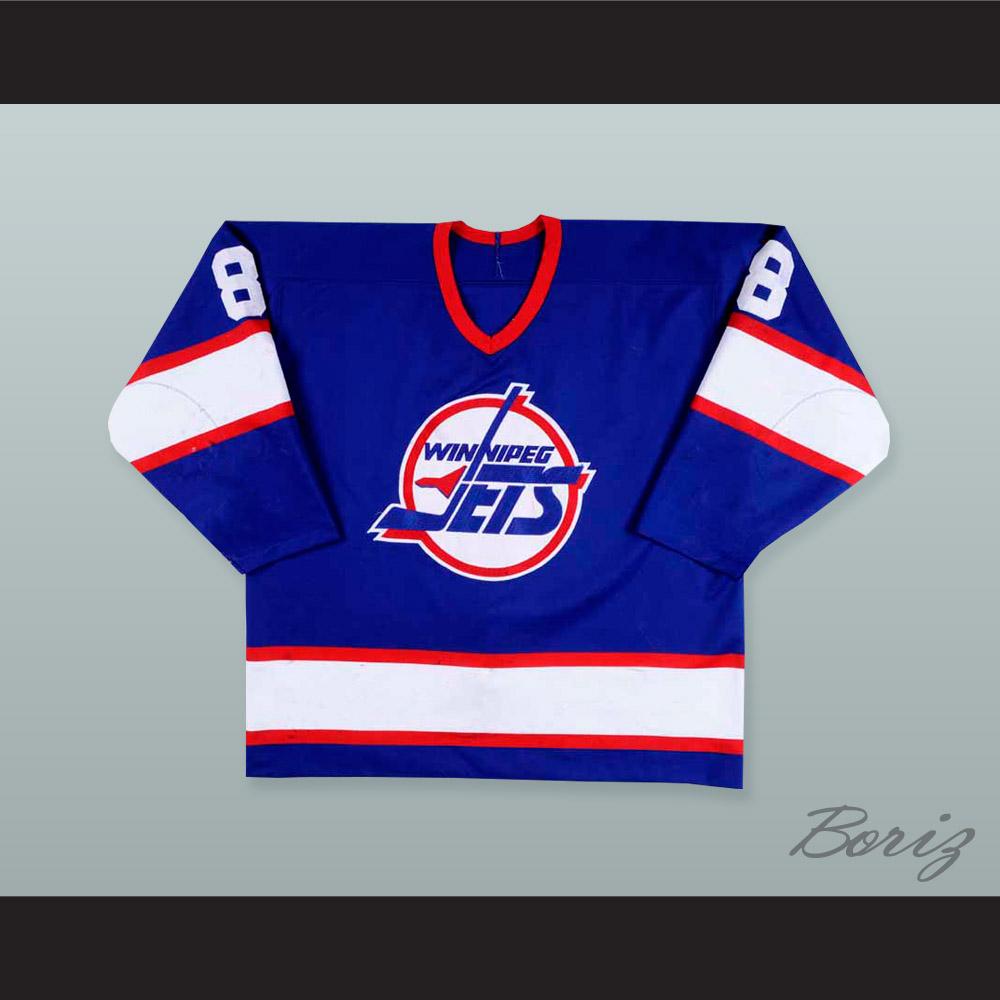 new products e9d7c e1797 Teemu Selanne 8 Winnipeg Jets Hockey Jersey