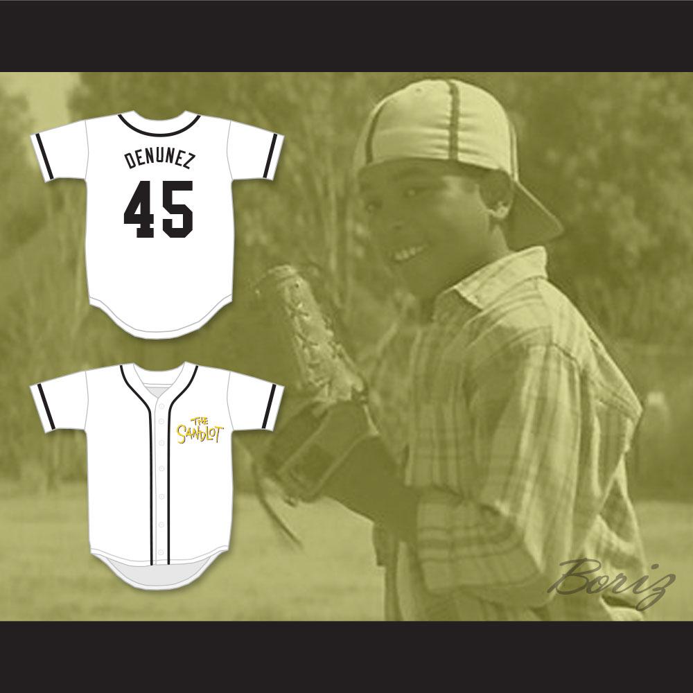 Kenny DeNunez 45 Baseball Jersey The Sandlot