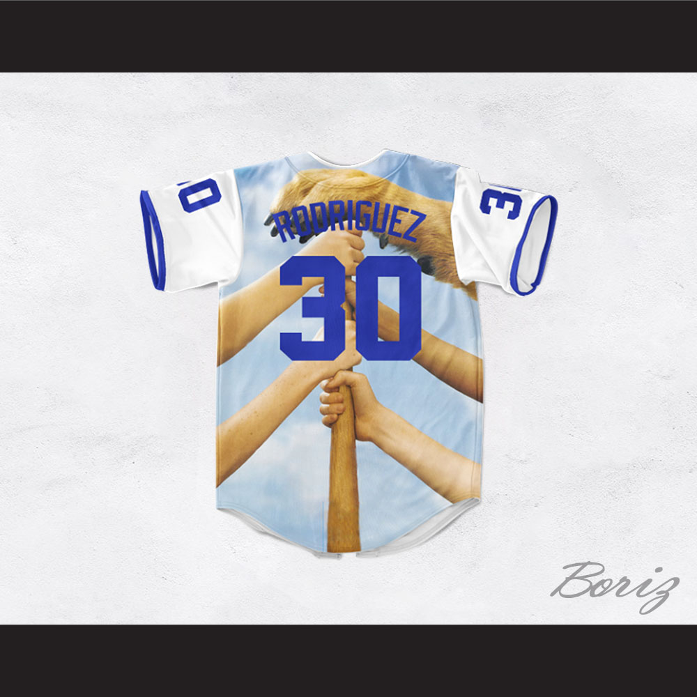 Benny  The Jet  Rodriguez 30 The Sandlot Legends Baseball Jersey 05feaf335