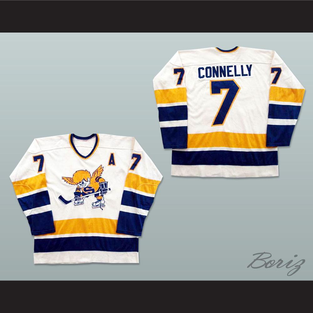 Wayne Connelly Minnesota Fighting Saints WHA Hockey Jersey 85a6322bfec