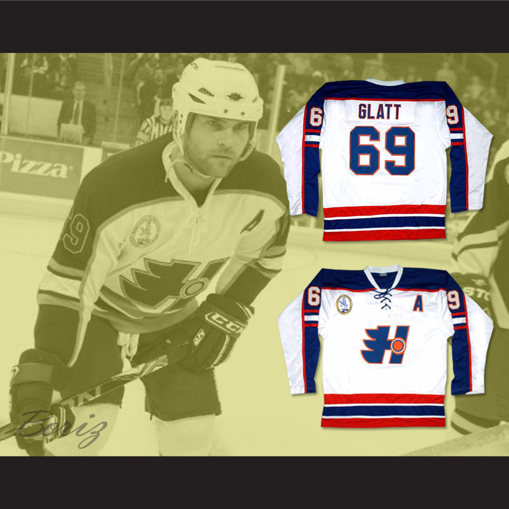 Goon Doug Glatt Halifax Highlanders Away Hockey Jersey Includes EMHL ... 5b070be026e