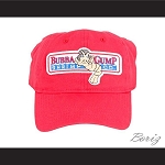 Bubba Gump Shrimp Red Baseball Cap Tom Hanks Company Hat