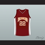 COACH CARTER RICK GONZALEZ TIMO CRUZ 22 BASKETBALL JERSEY ANY PLAYER STITCH SEWN