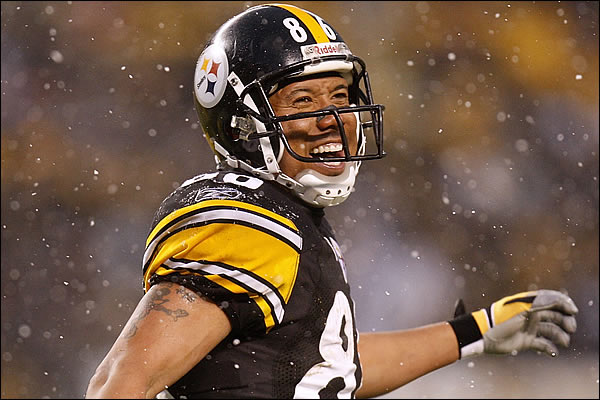 Hines Ward and his famous Football Jerseys