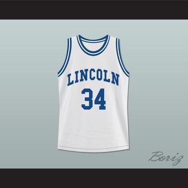 buy popular 5070d 671d5 RAY ALLEN JESUS SHUTTLESWORTH 34 WHITE LINCOLN HIGH SCHOOL BASKETBALL  JERSEY HE GOT GAME