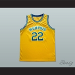 MEMPHIS TAMS OLD SCHOOL BASKETBALL JERSEY STITCH SEWN