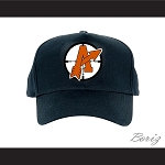 Orangetown Assassins Black Baseball Cap Goon NCHL Team