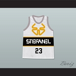 f3986bb2601e MICHAEL JORDAN 23 STEFANEL TRIESTE ITALIAN BASKETBALL JERSEY STITCH SEWN NEW