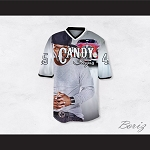 50 Cent 45 Candy Shop Luxury Car White Football Jersey