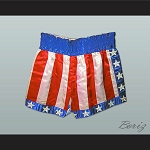 Apollo Creed USA Boxing Shorts