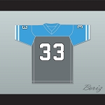 Hank Hill 33 Arlen Cougars High School Away Football Jersey