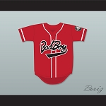 Biggie Smalls 10 Bad Boy Red Baseball Jersey with 20 Years Patch