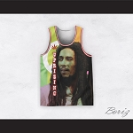 Bob Marley 06 Uprising Striped Basketball Jersey