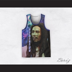 Bob Marley 06 Uprising Night Stars Basketball Jersey