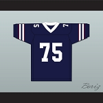 Cliff Frazier Jethro Snell 75 California Bulls Football Jersey 1st & Ten