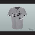 09cb0d1e7aa7 Michael Jordan 45 Birmingham Barons Baseball Jersey
