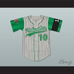 Jamal 10 Kekambas Baseball Jersey Hardball Includes ARCHA Patch and G-Baby Memorial Sleeve