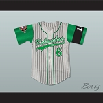 Player 6 Kekambas Baseball Jersey Hardball Includes ARCHA Patch and G-Baby Memorial Sleeve