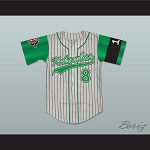 Kofi Evans 8 Kekambas Baseball Jersey Hardball Includes ARCHA Patch and G-Baby Memorial Sleeve