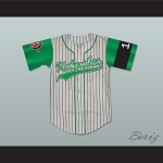 Keanu Reeves Coach Conor O'Neill Kekambas Baseball Jersey Hardball Includes ARCHA Patch and G-Baby Memorial Sleeve