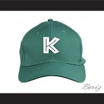 Hardball Kekambas Dark Green Baseball Cap New Hat